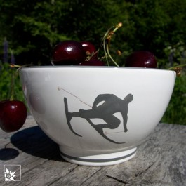 Gmundner Keramik Müslischale Toni Grau