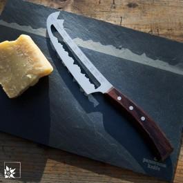 Panoramaknife - Käsemesser mit Schweizer Berggipfeln. Sie erhalten das Messer! Die Schieferplatte ist NICHT Bestandteil der Lieferung!