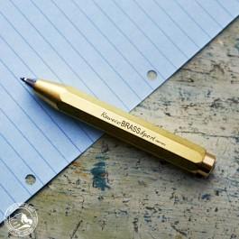 Kaweco Kugelschreiber Brass Sport aus Messing - Lieferung in Geschenkbox