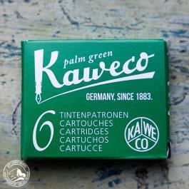 Kaweco Tintenpatronen Palmengrün - 6 Patronen/Schachtel