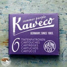 Kaweco Tintenpatronen Sommerlila - 6 Patronen im Karton