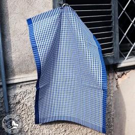 Meyer Mayor Geschirrtuch - Vichykaro blau