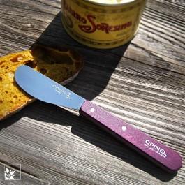 Opinel Streichmesser in der Farbe violett/lila (Lieferung ohne Dekoration)
