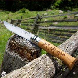 Opinel Taschenmesser Sonderedition Animalia Dog