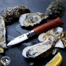 Opinel Austernmesser - Klappbar und mit rostfreier Klinge aus Edelstahl. (Lieferung OHNE Dekoration)