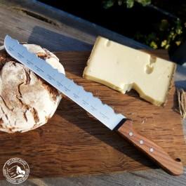 """PanoramaKnife Brotmesser """"Best of Austria"""" mit Piz Buin, Großglockner, Großvenediger, Zuckerhütl, Dobratsch und vielen mehr (Lieferung ohne Dekoration!)"""