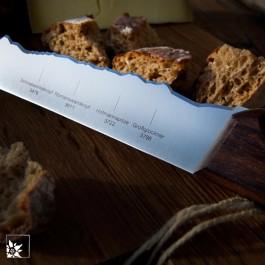 Panoramaknife Großglockner  | Das Brotmesser mit Alpenpanorama aus der Schweiz!