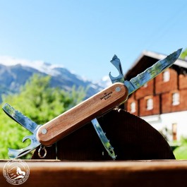 Taschenmesser PanoramaKnife Schweiz - Lieferung ohne Dekoration :)