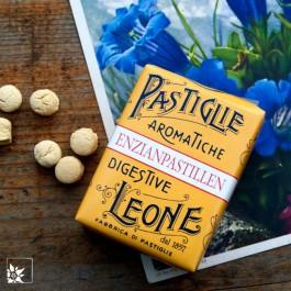 Pastiglie Leone Enzian Pastillen in der 30 g Packung.