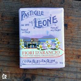 Pastiglie Leone Fiori d'Arancio - mit Orangenblüten Fürst von Neapel.