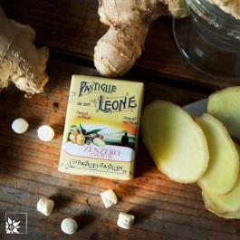 Ingwer Pastillen von Pastiglie Leone.