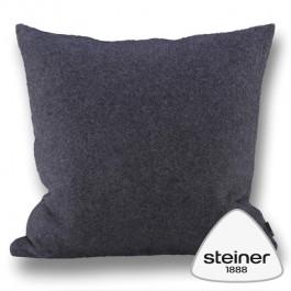 Steiner Kissen Alina - Farbe Graphit in zwei Größen erhältlich.