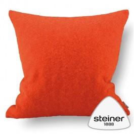 Steiner Wollkissen Alina - Farbe Mandarin - Mindestabnahme 2 Kissen