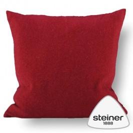 Steiner Kissen Alina - Farbe Preiselbeer in zwei Größen erhältlich.