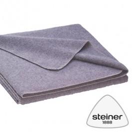 Steiner 1888 – Wolldecke Nora - Rinde ungefärbt