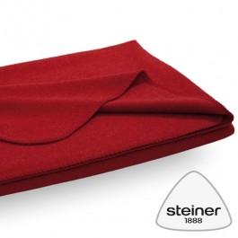 Steiner 1888 - Merino Wolldecke Sophia - Farbe Rubin