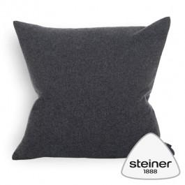 Steiner Merino-Wollkissen Sophia - Farbe Graphit