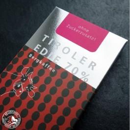 Tiroler Edle Schokolade Purissima Bergkaffee 70%