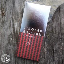 Tiroler Edle Schokolade Bergkaffee 48% (Vollmilch)