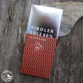 Tiroler Edle Schokolade Blutorange 60%