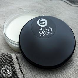 Walde Deo Creme Samt mit natürlichen Inhaltsstoffen, ohne Alkohol, Aluminiumsalze und Konservierungsstoffe.
