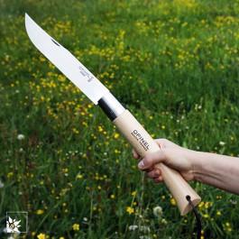Riesen Taschenmesser von Opinel. Ausgeklappt 50 cm lang.