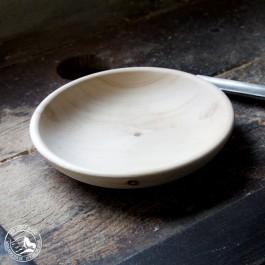 Teller aus Zirbenholz - Brotteller aus Tirol 24 cm Durchmesser
