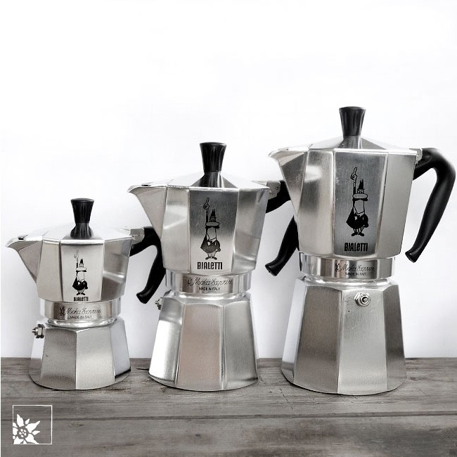 bialetti moka express espressokanne 6 tassen alpen shop wohlgeraten. Black Bedroom Furniture Sets. Home Design Ideas