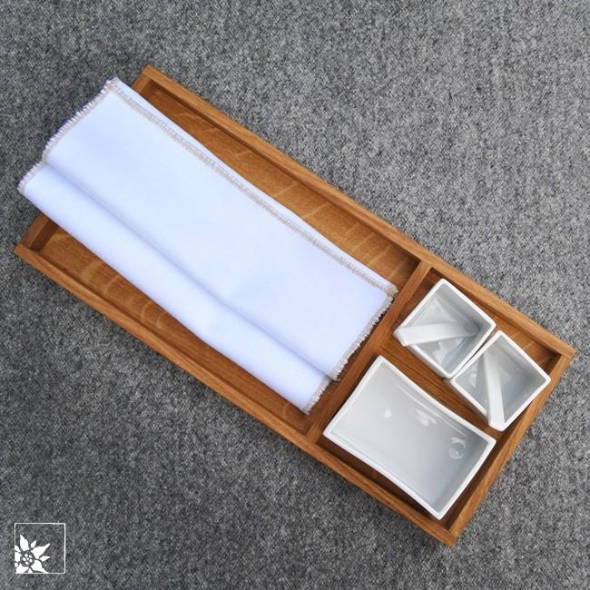 raumgestalt brot salz brett mit schalen hell wohlgeraten. Black Bedroom Furniture Sets. Home Design Ideas