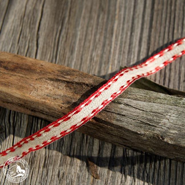 Geschenkband Pellicola m Draht Rot | Alpen Shop Wohlgeraten