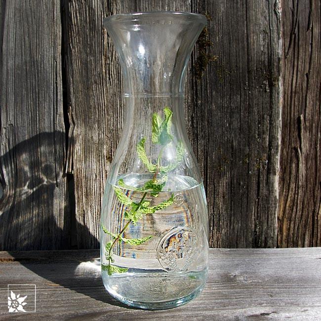 Italienische weinkaraffe wasser karaffe glas alpen for Italienische dekoration