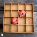 Raumgestalt Apfelkasten und Tablett - Eiche, hell