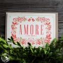 """Bayrische Mundart-Karte """"Amore"""""""