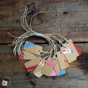 Mini-Geschenkanhänger (10) Masking Tape
