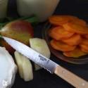 Opinel Küchenmesser 113 Wellenschliff Natur