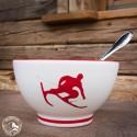 Gmundner Keramik Müslischale Toni Rot