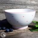 Gmundner Keramik Müslischale Herzerl Rosa