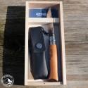 Opinel Taschenmesser No 8 (Carbon) mit Etui