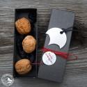 Raumgestalt - Nuss-Drängler Geschenkkarton mit Walnüssen