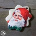 Retro-Geschenkanhänger Weihnachtsmann (3)