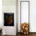 Raumgestalt Woodtower Kaminholz-Ständer 150 x 40