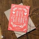 Bayrische Glückwunschkarte Ois Guade zum Geburtstag - Rot