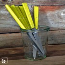 Die hellgrünen Brotzeitmesser von Opinel können einzeln gekauft werden. (Lieferung ohne Dekoration!)