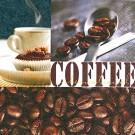 Die Servietten zum Kaffee.