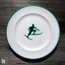 Gmundner Keramik Frühstücksteller Toni Grün
