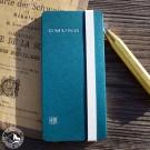Gmund PocketPad Notizbuch in Petrol (Lieferung OHNE Dekoration)
