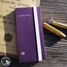 Gmund PocketPad Notizbuch Violett (Lieferung OHNE Dekoration)