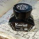 Kaweco Tintenfass Perlschwarz: 30ml schwarze Tinte zum Nachfüllen für Kaweco Füllhaltern