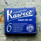 Kaweco Tintenpatronen Mitternachtsblau – 6 Patronen pro Schachtel