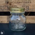 """Das Marmeladenglas """"Quattro Stagioni"""" mit Schraubdeckel. Volumen 150 ml."""